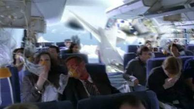 inaintea dezintegrarii unui avion boeing 737